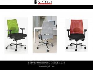 Las sillas de oficina operativas