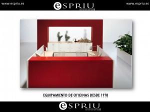 Mostrador para Recepción Diseño Italiano